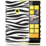 Design Cover til Lumia 520 - Zebra