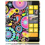 Design Cover til Lumia 520 - Hippie