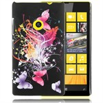 Design Cover til Lumia 520 - Midnight Butterflies